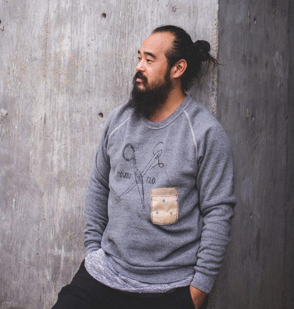 yproduct-grey-scissors-sweatshirt